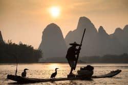 Chinesischer Fischer