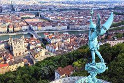 Blick über Lyon