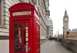 Londoner Telefonzelle