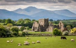 Idyllische, Irische Landschaft