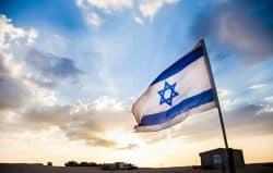 Fahne von Israel