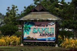 Flughafen von Koh Samui