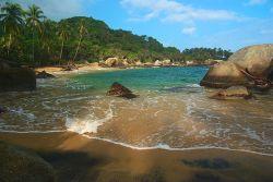 Wunderschöne Bucht in Kolumbien