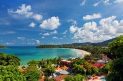 Kata Beach auf Phuket