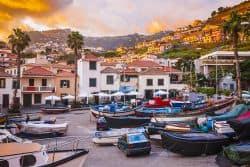 Kleiner Fischerhafen auf Madeira