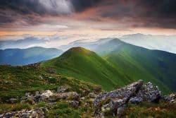 Wunderschöne Landschaft in Rumänien