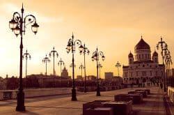 Schöne Kirche in Moskau