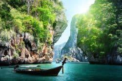 Traumhafte Bucht in Thailand