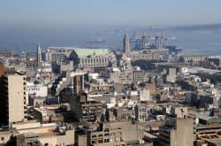 Blick über Montevideo