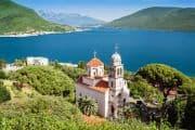 Blick auf einen See in Montenegro