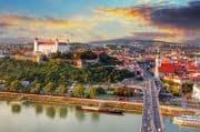 Blick auf Bratislava