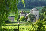 Kleines Schloss in Burgund
