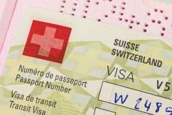 Visa für den Schweizurlaub