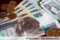 Euro in Ägyptische Pfund tauschen