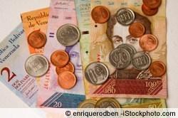 Euro in Bolivar Fuerte tauschen