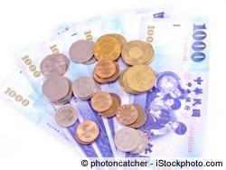 Euro in Neue Taiwan-Dollar tauschen