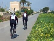 Radfahrer auf Mallorca