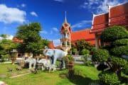 Beeindruckender Tempel in Wat Chalong