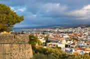 Blick von der Festung von Rethymnon