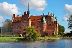 Kleines Schloss in Dänemark