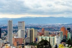 Skyline von Bogota