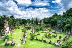 Buddhapark in Laos