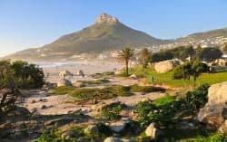 Kap stadt in Südafrika