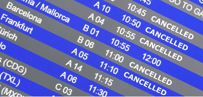 Was tun wenn der Flug gecancelt wurde?