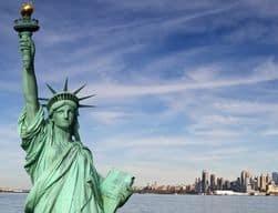 Freiheitsstatue im New York Urlaub