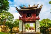 Schöner Tempel in Hanoi