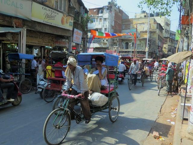 In Delhi, Indien