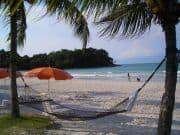 Idyllischer Platz am Strand