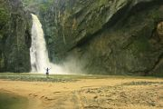 Spektakulärer Wasserfall