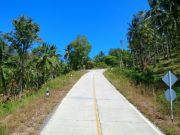 Landstraße auf Koh Samui