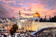 Jerusalem in der Abenddämmerung