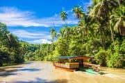 Fluss auf den Philippinen
