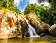 Fantastischer Wasserfall