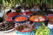 Bunter Gemüsemarkt