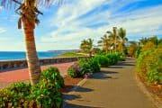 Strandpromenade in Maspalomas