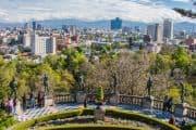 Blick auf Mexiko City