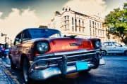 Oldtimer-Taxi auf Kuba