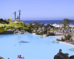 Große Poolanlage auf Gran Canaria