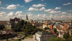 Blick über Lublin