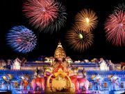 Tolle Shows mit Feuerwerk