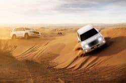 Wüstenfahrt mit dem Jeep
