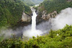Wasserfall in Ecuador