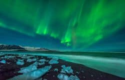 Naturschauspiel auf Island