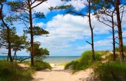 Schöne Ostseeküste