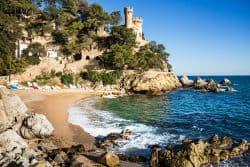 Kleine Burg in Lloret de Mar