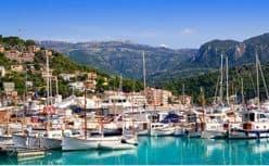 Schöner Hafen auf Mallorca